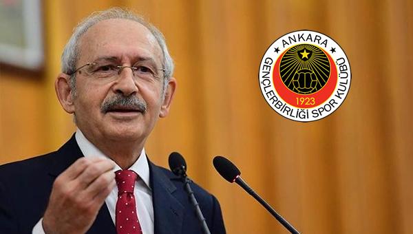Kılıçdaroğlu'ndan Gençlerbirbirliği'ne kutlama