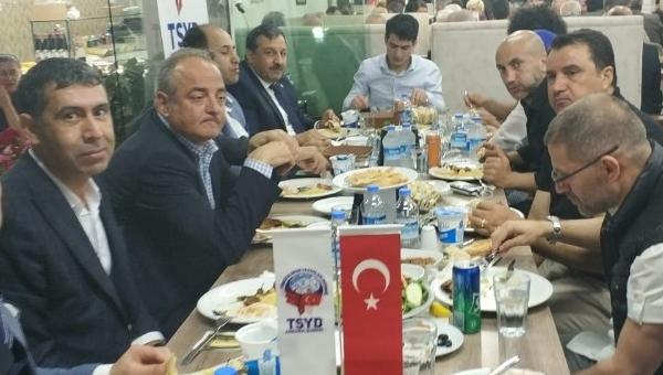 TSYD Ankara Şubesi iftar yemeğinde buluştu