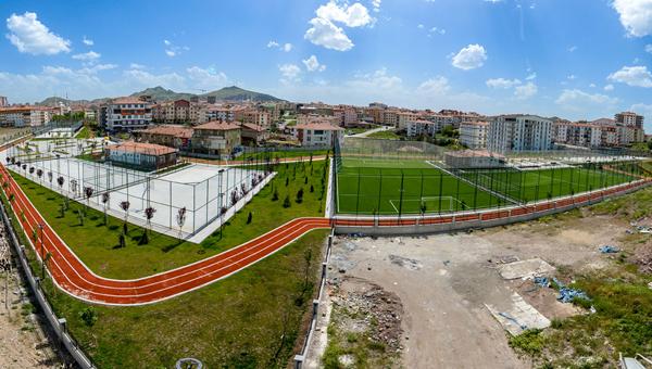Altındağ'a 28 bin metre karelik spor merkezi