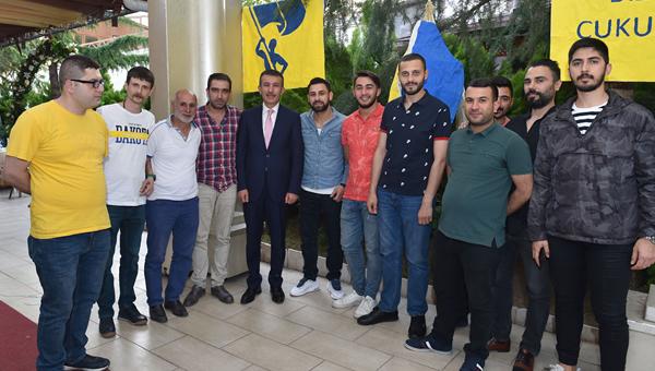 Asım Balcı, Gecekondu'nun iftarına katıldı