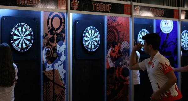Ankara'da Dart Şampiyonası heyecanı