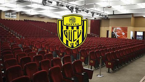 Ankaragücü'nde kongrenin ilk ayağı yarın