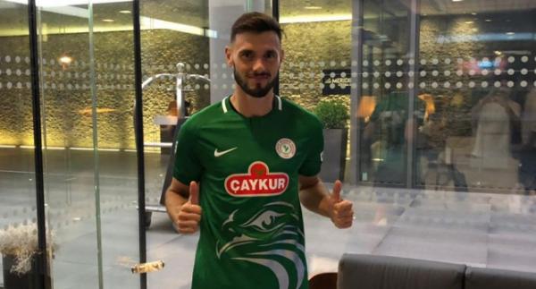 Çaykur Rizespor'da bir transfer daha