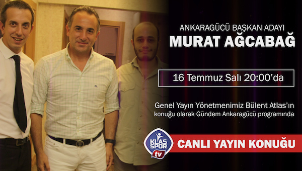 Klasspor TV'nin ilk konuğu: Murat Ağcabağ