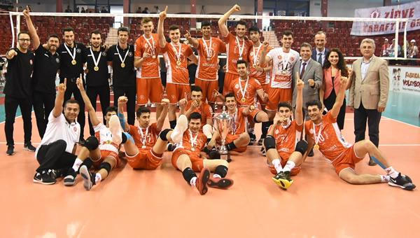 Ziraat'li gençler, Türkiye Şampiyonu