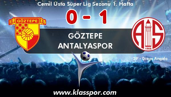 Göztepe 0 - Antalyaspor 1