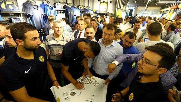 Ankaragücü Store resmen açıldı