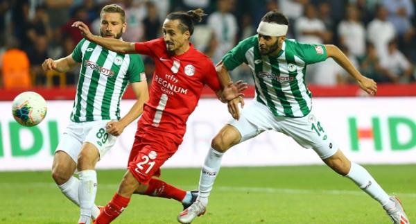 Konya'da 4 gol var, kazanan yok