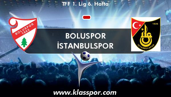Boluspor  - İstanbulspor