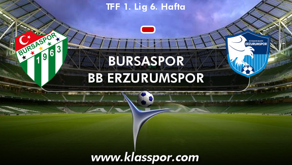 Bursaspor  - BB Erzurumspor