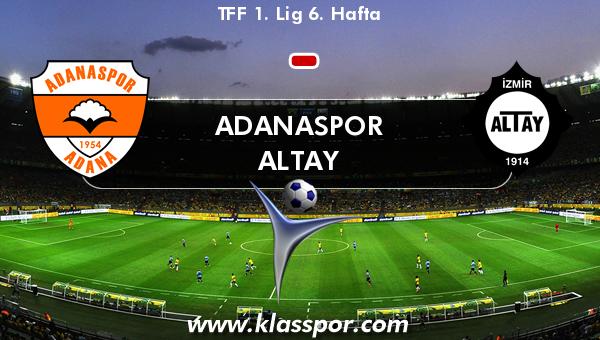 Adanaspor  - Altay
