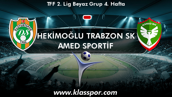 Hekimoğlu Trabzon SK  - Amed Sportif