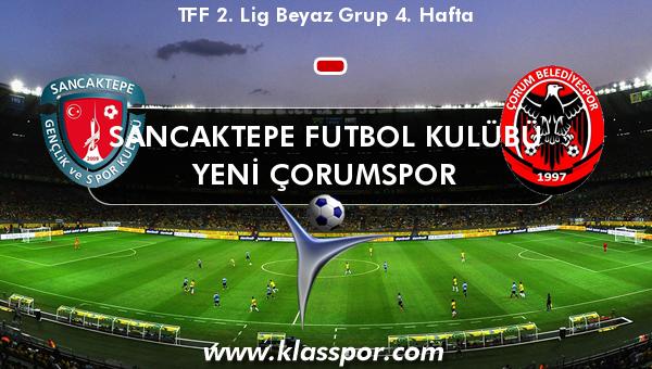 Sancaktepe Futbol Kulübü  - Yeni Çorumspor