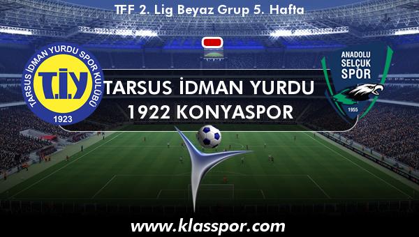 Tarsus İdman Yurdu  - 1922 Konyaspor