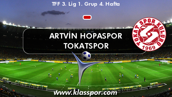 Artvin Hopaspor  - Tokatspor