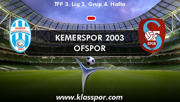 Kemerspor 2003  - Ofspor