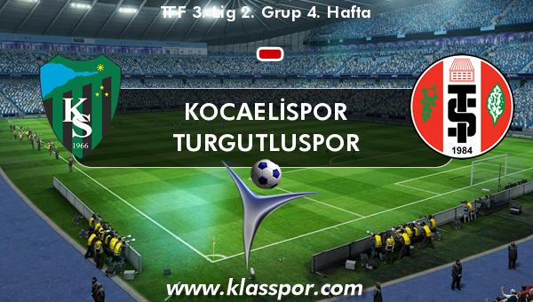 Kocaelispor  - Turgutluspor