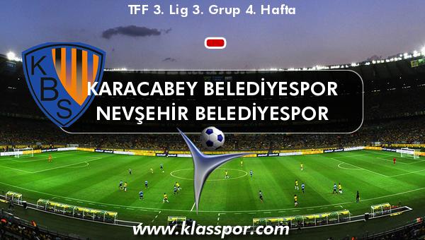 Karacabey Belediyespor  - Nevşehir Belediyespor