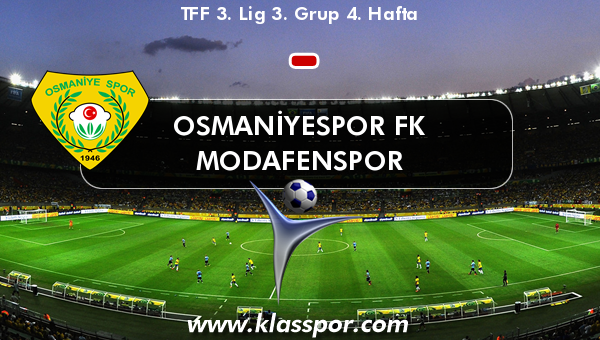 Osmaniyespor FK  - Modafenspor