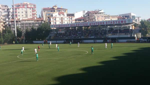 Etimesgut Belediyespor 3 puanı 3 golle aldı