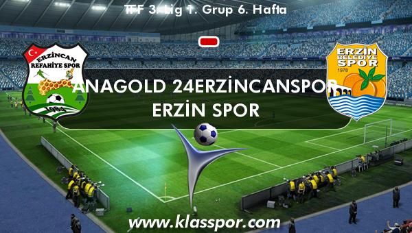 Anagold 24Erzincanspor  - Erzin Spor