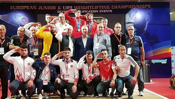 Muhammed Furkan Avrupa Şampiyonu