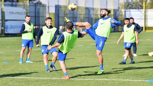 Trabzonspor maçı hazırlıkları sürüyor
