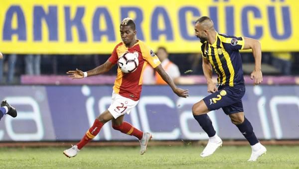 Ankaragücü'nün Galatasaray maçı ilk 11'i