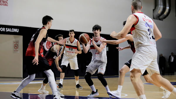 TED Ankara Kolejliler 92 - 61 Gaziantep Basketbol