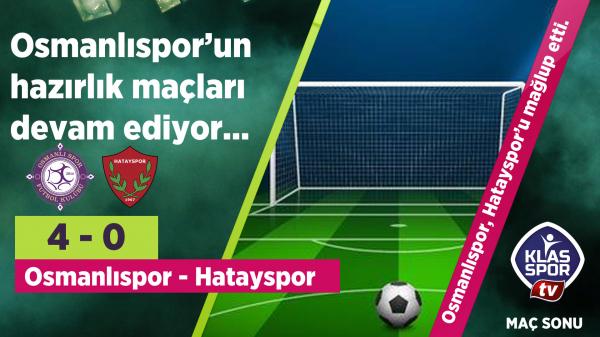 Osmanlıspor 4 - 0 Hatayspor