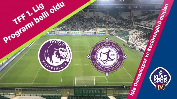 TFF 1. Lig maç programı açıklandı