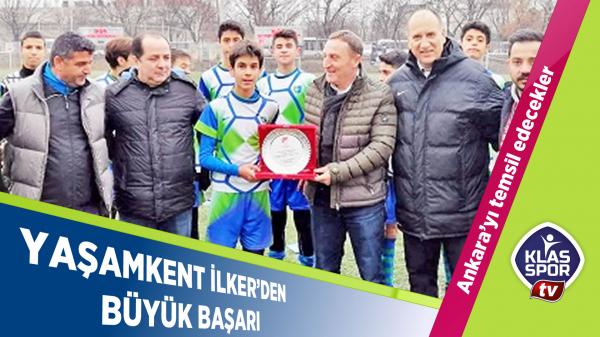Yaşamkent İlkerspor'dan büyük başarı