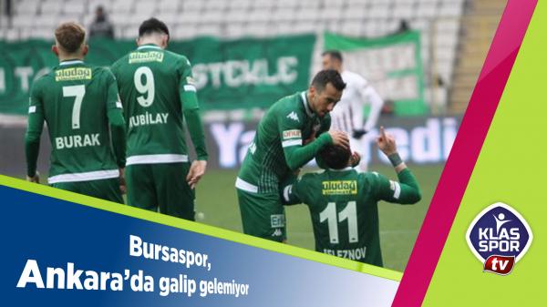 Bursaspor, Ankara'da galip gelemiyor