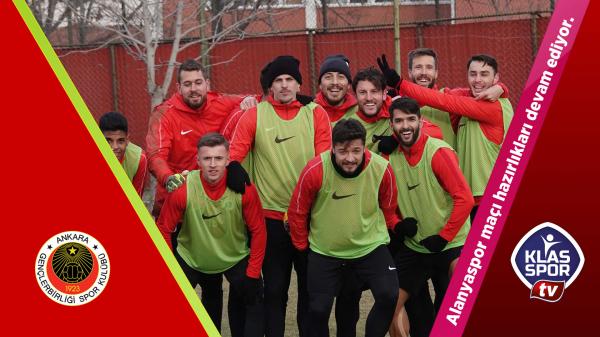 Gençlerbirliği Alanyaspor maçına hazır