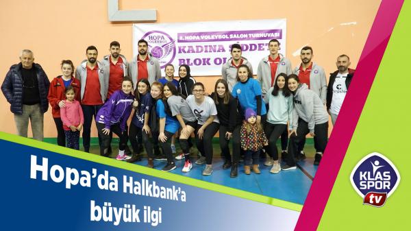Hopa'da Halkbank'a büyük ilgi