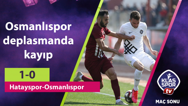 Osmanlıspor deplasmanda kayıp