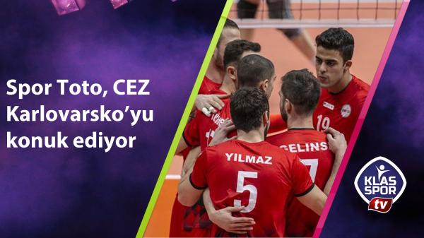 Spor Toto, CEZ Karlovarsko'yu konuk ediyor