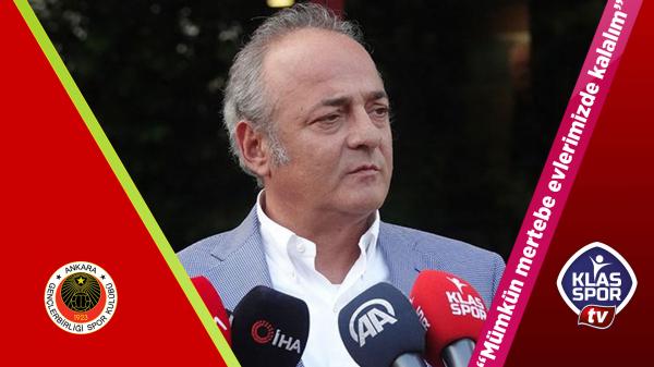 Murat Cavcav: Mümkün mertebe evlerimizde kalalım
