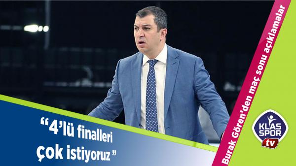 Türk Telekom Başantrenörü Gören'den açıklamalar