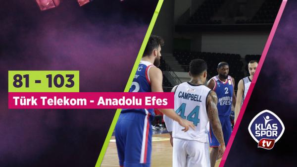 Türk Telekom evinde mağlup