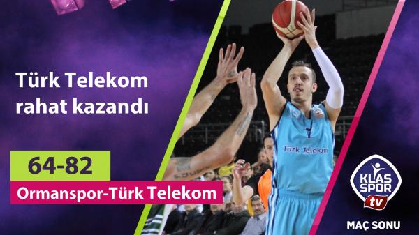 Türk Telekom rahat kazandı