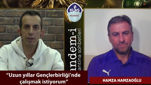 Hamza Hamzaoğlu: Uzun yıllar Gençlerbirliği'nde çalışmak istiyorum