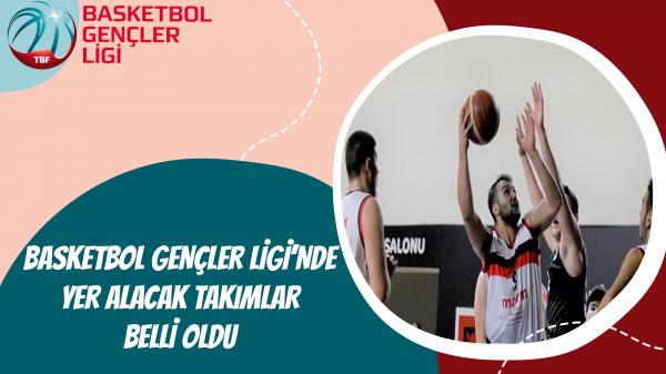 Basketbol Gençler Ligi'nde Yer Alacak Takımlar Belli Oldu