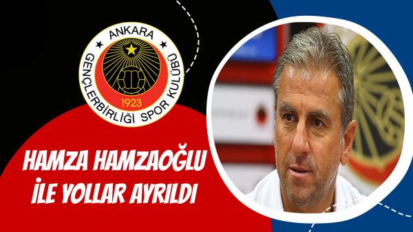 Gençlerbirliği'nde Hamza Hamzaoğlu ile yollar ayrıldı...