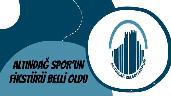 Altındağ Spor'un fikstürü belli oldu