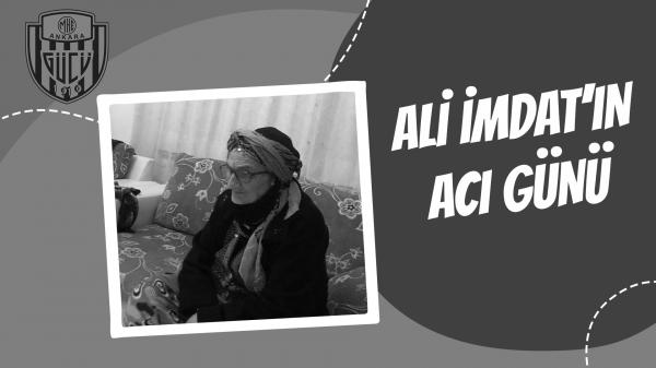 Ali İmdat'ın acı günü