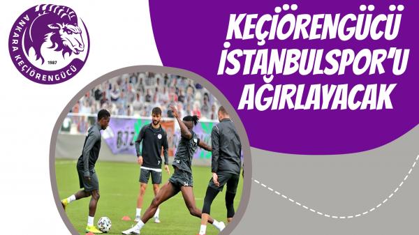Keçiörengücü İstanbulspor'u ağırlayacak