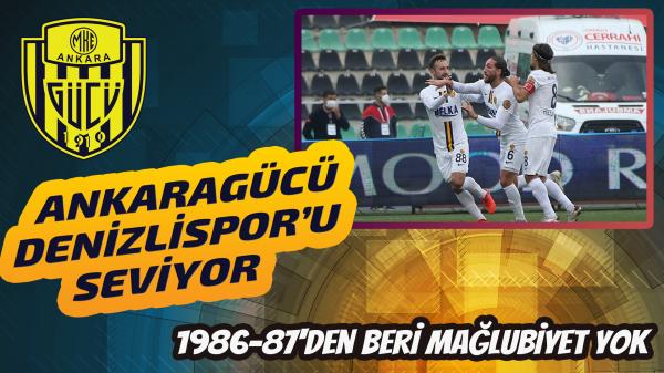 Ankaragücü, 1986-87'den beri mağlup olmuyor