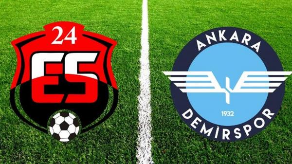 Ankara Demirspor'un 7 maçlık serisi Erzincan'da son buldu