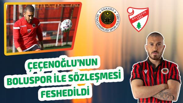 Çeçenoğlu'nun Boluspor ile sözleşmesi feshedildi